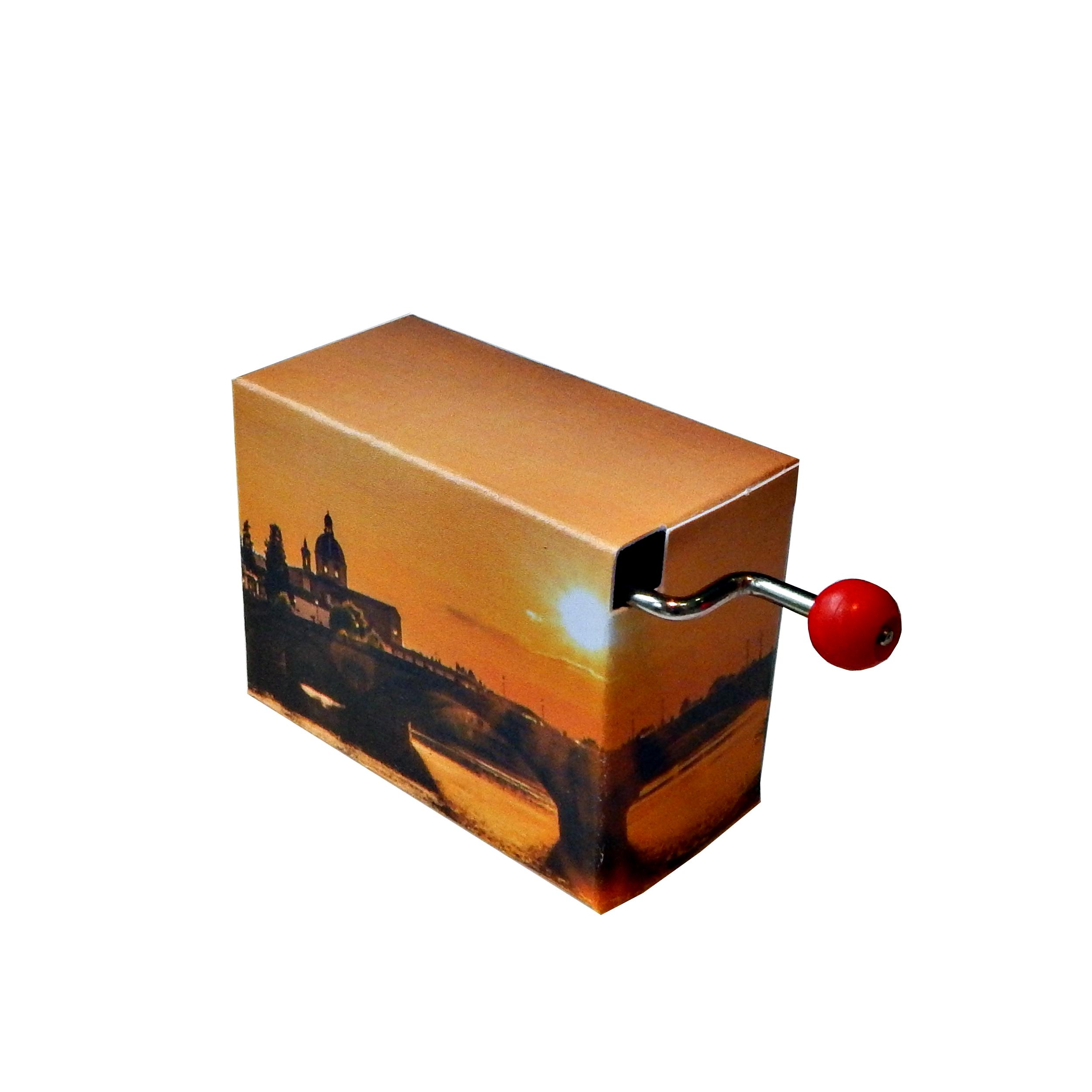 hand crank music box - O sole mio